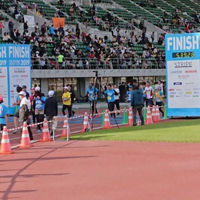 岡山マラソン完走!
